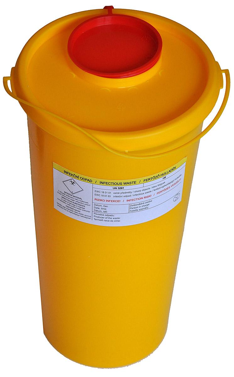 KLINIK BOX - NÁDOBA NA NEMOCNIČNÍ ODPAD 2,5 litru