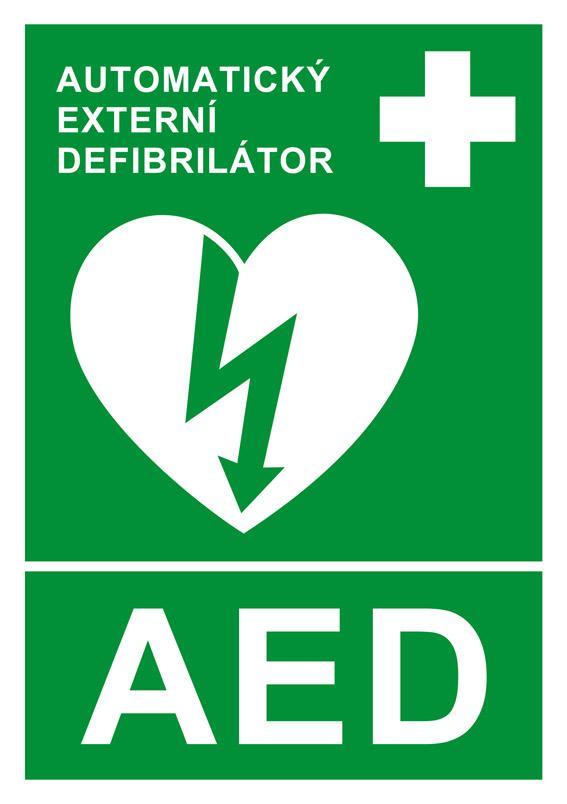 Výsledek obrázku pro značka pro AED