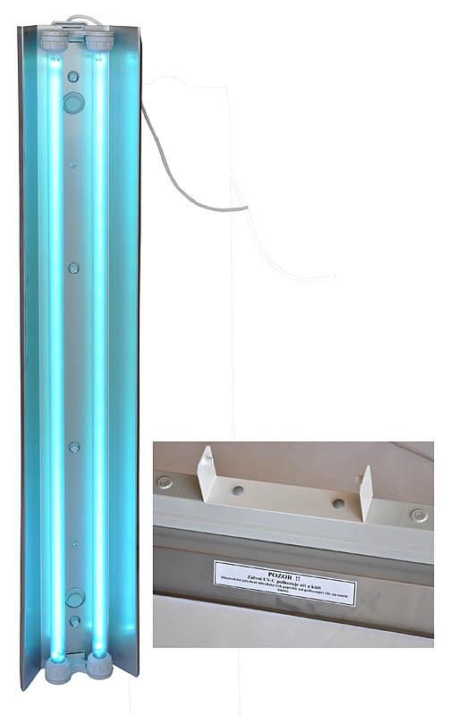 PRŮMYSLOVÁ BAKTERICIDNÍ LAMPA (72W) model IP65